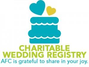 charitable wedding registry