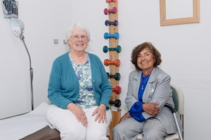 Marie Markey, PT and Rosa Scott